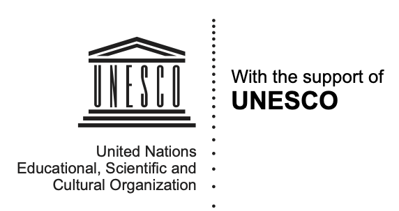 Unesco logo black