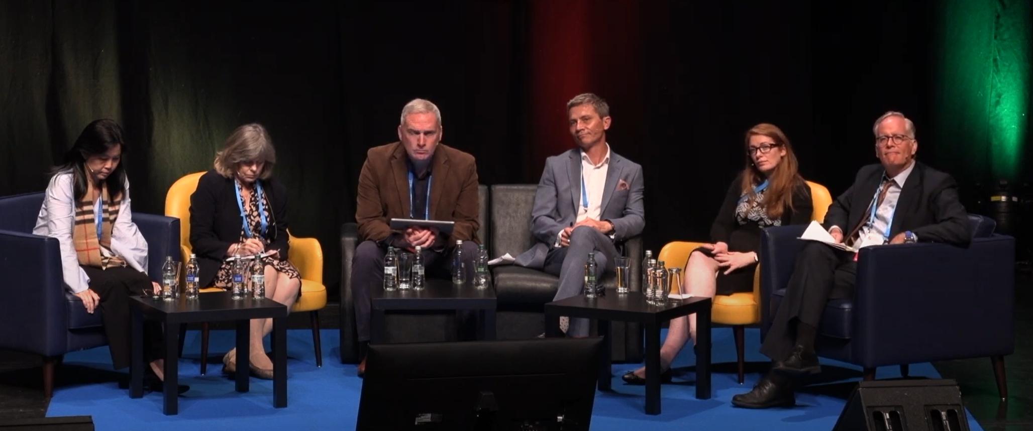 UNESCO cyberbullying panel WABF 2019