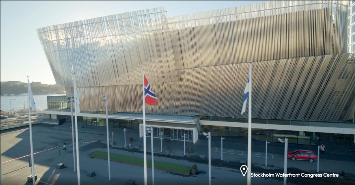 Stockholm Waterfront Congress Centre WABF Venue 2021