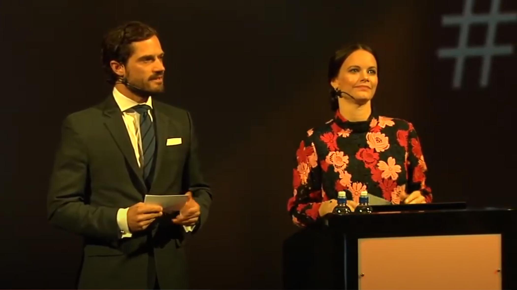 H.R.H. Prince Carl Philip & H.R.H. Princess Sofia WABF 2017 Keynote Speakers