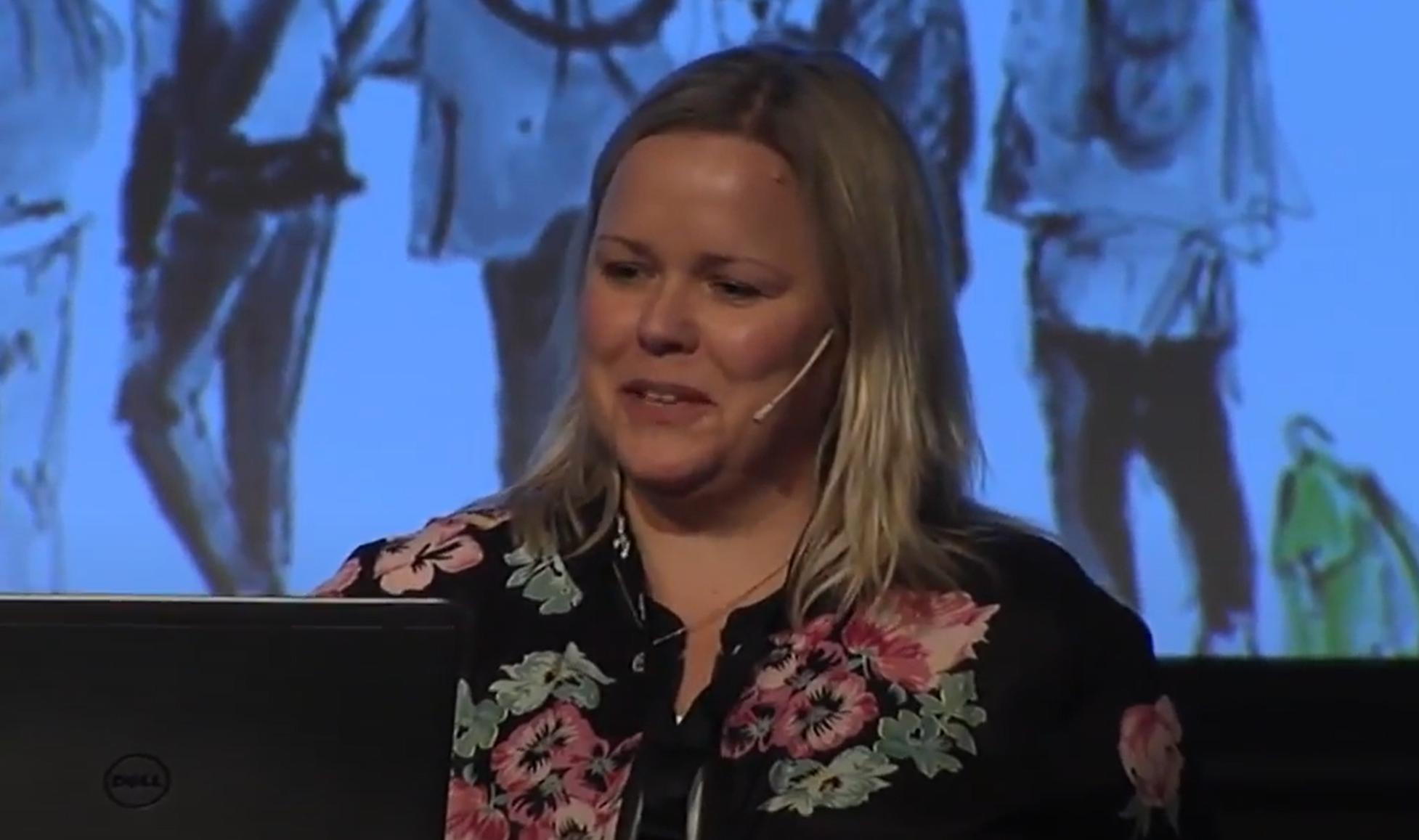 Heléne Zetterström Dahlqvist Speaker WABF 2017