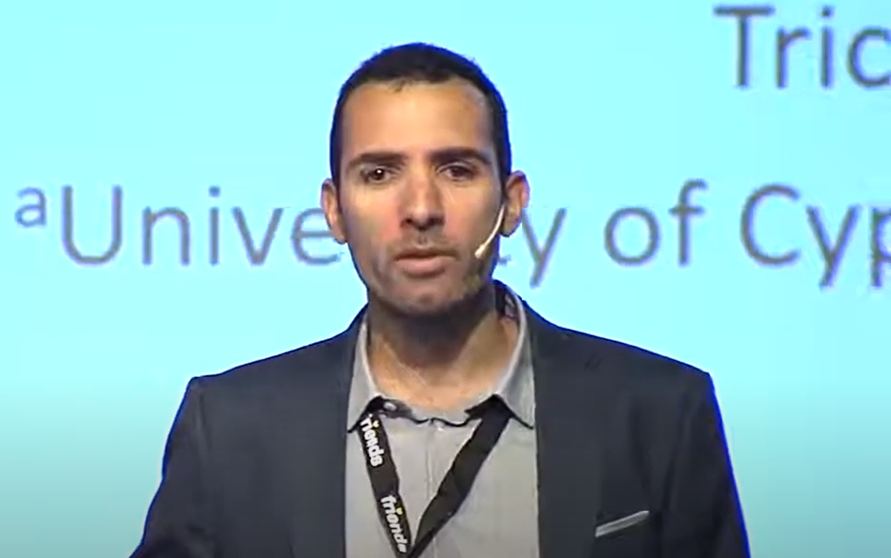 Kyriakos Charalampous Speaker WABF 2017