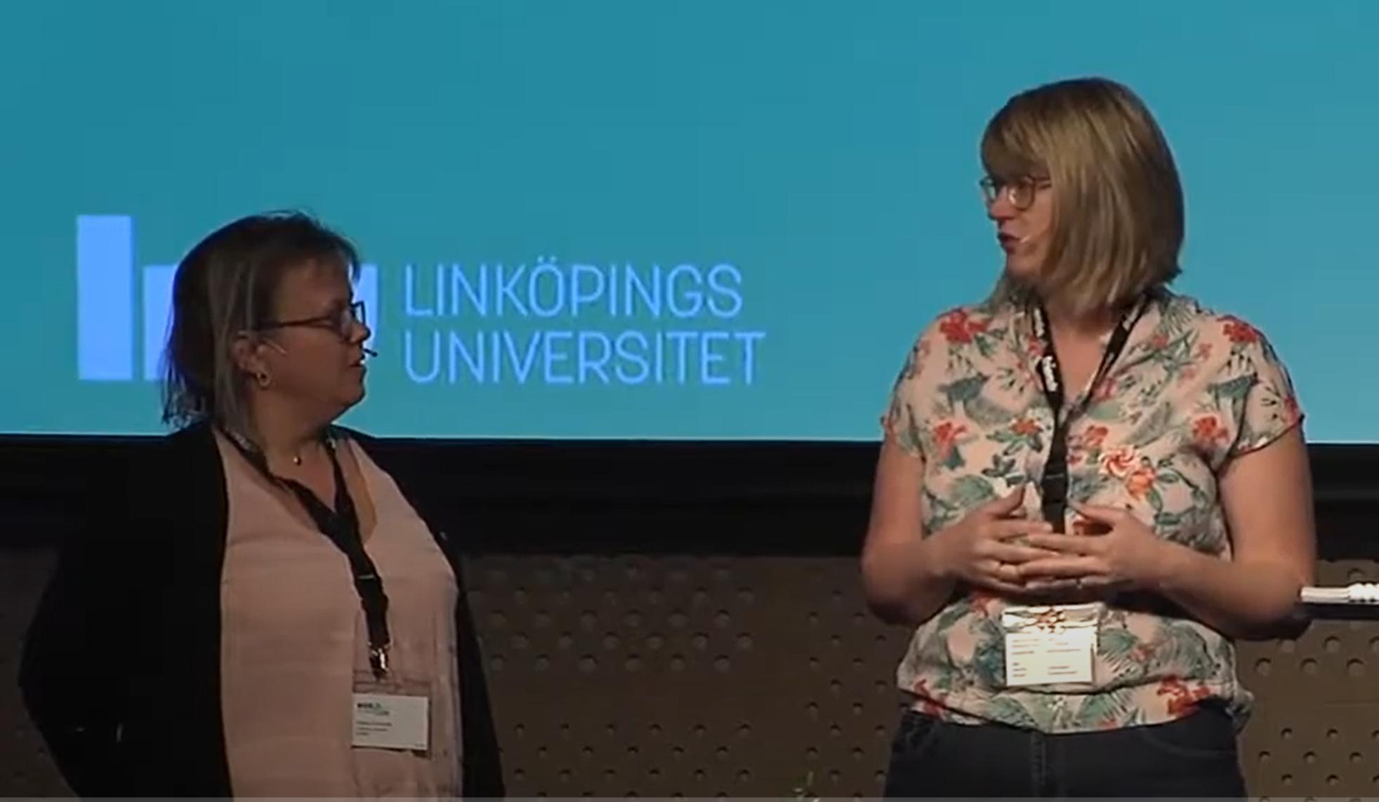 Lina Lago & Helene Elvstrand Speakers WABF 2017