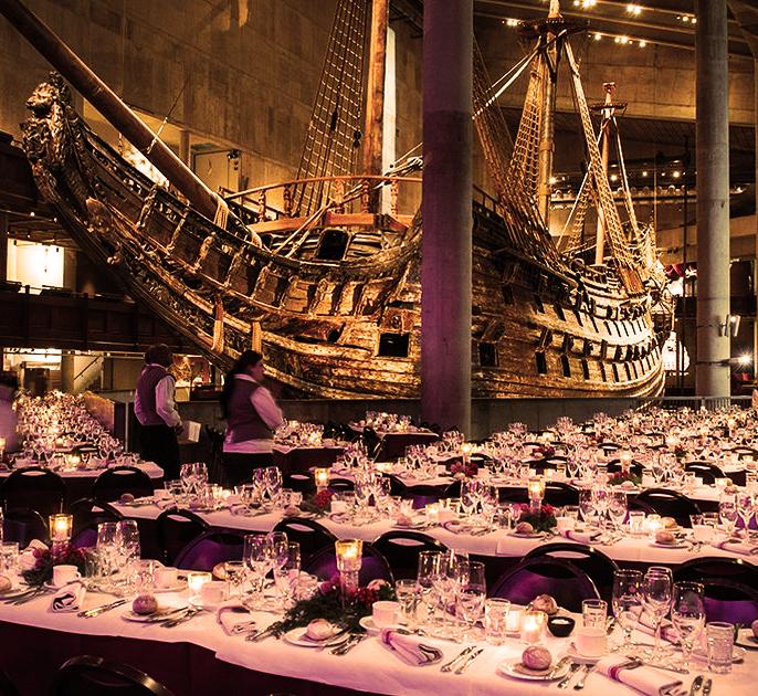 Conference dinner WABF 2021 Vasa Museum Stockholm
